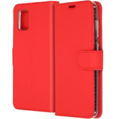 Accezz Custodia Portafoglio Flessibile Samsung Galaxy A31 - Rosso