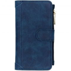 Portafoglio de Luxe iPhone 11 - Blu scuro