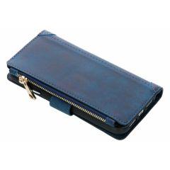 Portafoglio de Luxe iPhone Xr - Blu scuro