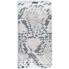 Custodia Portafoglio Design  Samsung Galaxy S10 - Snake