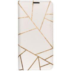 Custodia Portafoglio Design  Samsung Galaxy S10 - White Graphic
