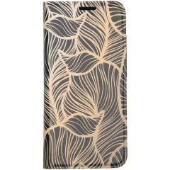 Custodia Portafoglio Design  Samsung Galaxy S20 - Golden Leaves