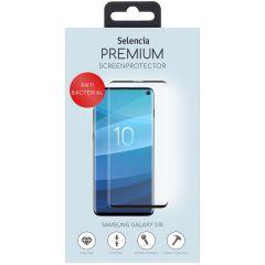 Selencia Pellicola Protettiva antibatterico in Vetro Temperato Samsung Galaxy S10