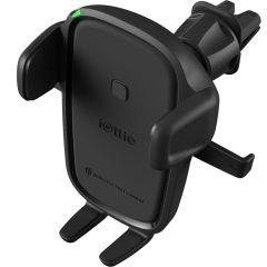 iOttie Supporto per ricarica rapida wireless Easy One Touch Bocchetta d'aria + CD-Slot
