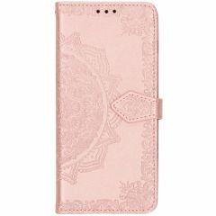Custodia Portafoglio Mandala Samsung Galaxy S10 - Rosa