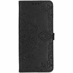 Custodia Portafoglio Mandala Samsung Galaxy S10 - Nero