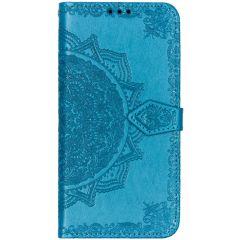 Custodia Portafoglio Mandala Samsung Galaxy A50 / A30s - Turchese