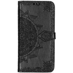 Custodia Portafoglio Mandala Samsung Galaxy A50 / A30s - Nero