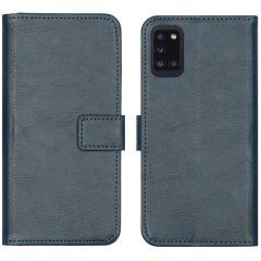 iMoshion Custodia Portafoglio de Luxe Samsung Galaxy A31 - Blu scuro