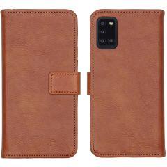 iMoshion Custodia Portafoglio de Luxe Samsung Galaxy A31 - Marrone