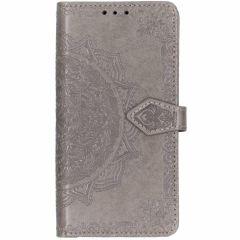 Custodia Portafoglio Mandala iPhone Xr - Nero