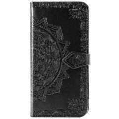 Custodia Portafoglio Mandala Samsung Galaxy S20 - Nero