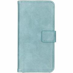 Custodia Portafoglio de Luxe Samsung Galaxy S10 Plus - Azzurro
