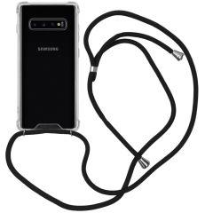 iMoshion Cover con Cordino Samsung Galaxy S10 Plus - Trasparente