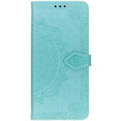 Custodia Portafoglio Mandala Samsung Galaxy S10 Plus - Verde menta