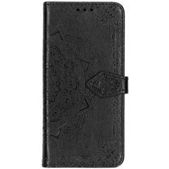 Custodia Portafoglio Mandala Samsung Galaxy S10 Plus - Nero