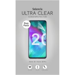Selencia Pellicola Protettiva Ultra Trasparente Duo Pack Huawei Nova 5t / Honor 20 (Pro)