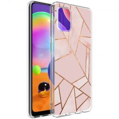 iMoshion Cover Design Samsung Galaxy A31 - Pink Graphic