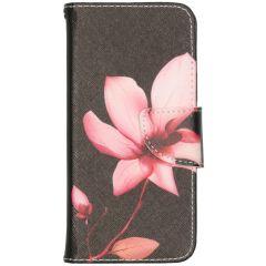 Custodia Portafoglio Flessibile iPhone 12 (Pro) - Flowers
