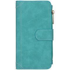 Portafoglio de Luxe iPhone 12 (Pro) - Turchese
