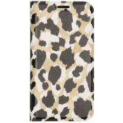 Custodia Portafoglio Design  iPhone 12 (Pro) - Panther Black / Gold