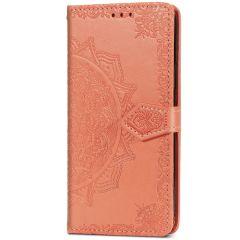 Custodia Portafoglio Mandala iPhone 12 (Pro) - Rosso