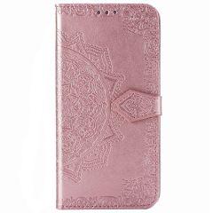 Custodia Portafoglio Mandala iPhone 12 (Pro) - Rosa