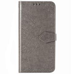 Custodia Portafoglio Mandala iPhone 12 (Pro) - Grigio