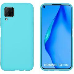 iMoshion Cover Color Huawei P40 Lite - Verde menta