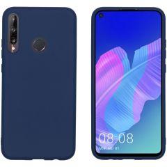 iMoshion Cover Color Huawei P40 Lite E - Blu scuro