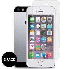 iMoshion Pellicola Protettiva in Vetro Temperato 2 Pezzi iPhone SE / 5 / 5s