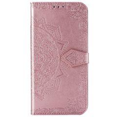 Custodia Portafoglio Mandala Samsung Galaxy S20 - Rosa chiaro