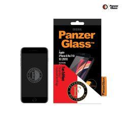 PanzerGlass Feyenoord Pellicola Protettiva Case Friendly iPhone SE (2020) / 8 / 7 / 6(s) - Nero