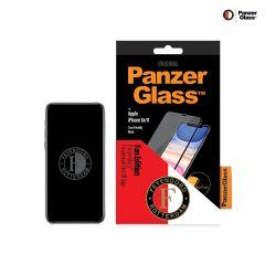 PanzerGlass Feyenoord Pellicola Protettiva Case Friendly iPhone 11 / Xr - Nero