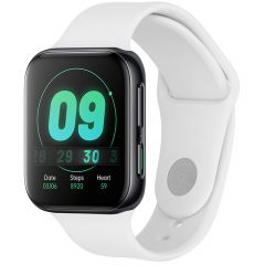 iMoshion Cinturino in Silicone Oppo Watch 41 mm - Bianco
