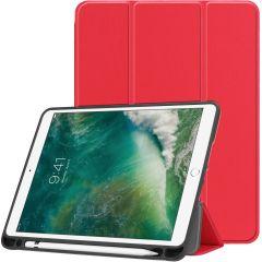 iMoshion Custodia Trifold iPad (2018) / (2017) / Air 2 / Air - Rosso