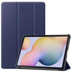 iMoshion Custodia Trifold Samsung Galaxy Tab S7 - Blu scuro