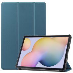 iMoshion Custodia Trifold Samsung Galaxy Tab S7 - Verde scuro