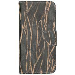 Custodia Portafoglio Flessibile Samsung Galaxy A31 - Wild Leaves
