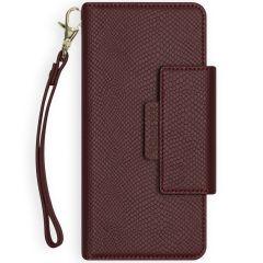 Selencia Llyr Custodia rimovibile 2 in 1 Serpente iPhone 12 Mini - Rosso scuro