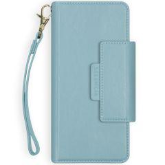 Selencia Surya Custodia rimovibile 2 in 1 in Pelle Vegana iPhone 12 Mini - Blu