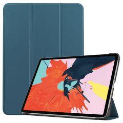 iMoshion Custodia Trifold iPad Air (2020) - Verde scuro