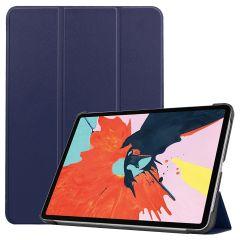 iMoshion Custodia Trifold iPad Air (2020) - Blu scuro