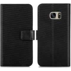 iMoshion Portafoglio Canvas Luxe Samsung Galaxy S7 - Nero