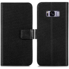 iMoshion Portafoglio Canvas Luxe Samsung Galaxy S8 - Nero