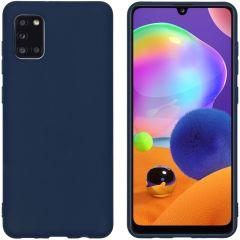 iMoshion Cover Color Samsung Galaxy A31 - Blu scuro