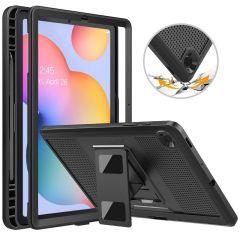 Accezz Custodia posteriore Robusta Samsung Galaxy Tab S6 Lite - Nero