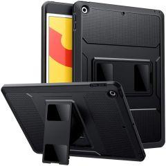 Accezz Custodia posteriore Robusta iPad 10.2 (2019 / 2020 / 2021) - Nero