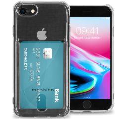 iMoshion Cover Flessibile con Portafoglio iPhone SE (2020) / 8 / 7 - Trasparente
