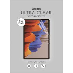 Selencia Pellicola Protettiva Ultra Trasparente Duo Pack Samsung Galaxy Tab S7